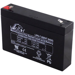 Hermetička baterija LEOCH 12V-  5,4Ah  - high rate ( UPS )  T2 terminal