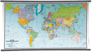 Karta Svijet - politički zemljovid 1:25 000 000, NOVO IZDANJE