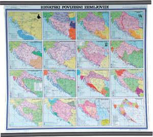 Karta Hrvatski povijesni zemljovidi