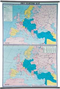Karta Prvi svjetski rat