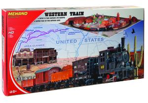 Mehano vlak western s maketom t109