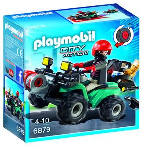 Playmobil pljačkaš sa vozilom 6879