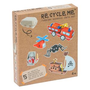 Recycle Me set  kutija za jaja dečki 21687