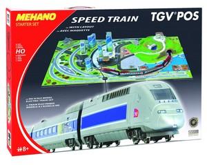 Mehano vlak tgv pos s maketom t111