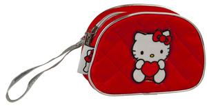 Torbica kozmetička Hello Kitty crvena 11-1814