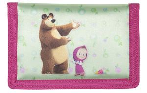 Novčanik Masha and the bear raspberry 21531
