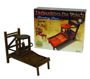Leonardo da Vinci - tiskarski stroj e275