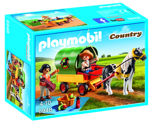 Playmobil piknik s ponijem i vozilom 6948