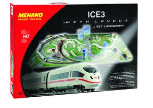 Mehano vlak ice3 s maketom-eu t737