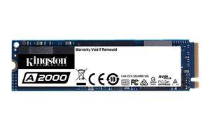 SSD 250GB KINGSTON A2000 PCIe M.2 2280 NVMe