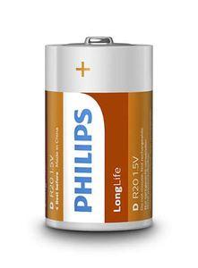 PHILIPS baterija R20L2B/10