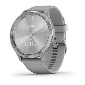 Garmin Vivomove 3, srebrni okvir sa sivim remenom, pametni sat