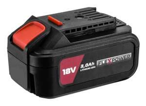 Praktik Tools baterija 3,0ah - FLEX POWER