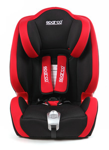 SPARCO autosjedalica F1000K 9-36 kg crvena