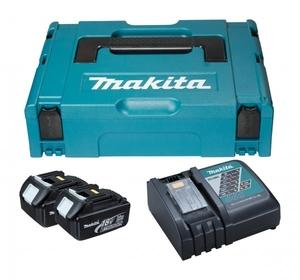 MAKITA akumulatorski LXT set  (2xBL1830, 1xDC18RC, kofer) 196693-0