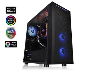 Kućište Thermaltake Versa J22 Tempered Glass RGB Edition