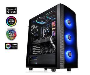 Kućište Thermaltake Versa J25 Tempered Glass RGB Edition
