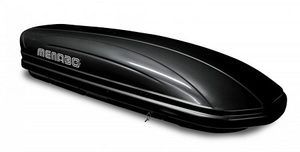 Menabo MANIA 460 DUO ABS krovna kutija,crna