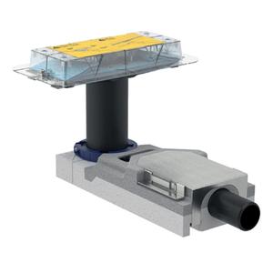 GEBERIT CLEANLINE set za podni odvod (154.152.00.1) 65-90 mm