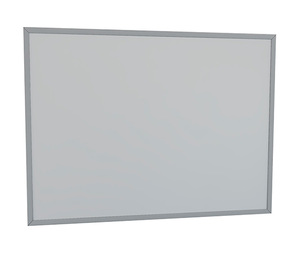 CONCEPTO SIMPLE 80 kupaonsko ogledalo (80x60 cm) u AL okviru