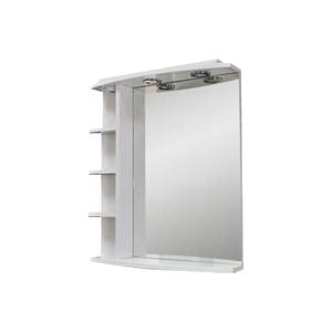 CONCEPTO EVA 60 kupaonsko ogledalo s policama i rasvjetom
