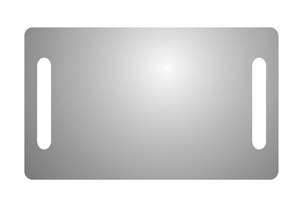 CONCEPTO LILY 100 kupaonsko ogledalo s rasvjetom (100x60 cm)