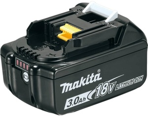 MAKITA akumulator BL1830B (18 V / 3.0 Ah, Li-Ion)
