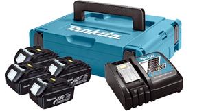 MAKITA LXT Power set u koferu MAKPAC 1, BL1830x4, DC18RC197954-1
