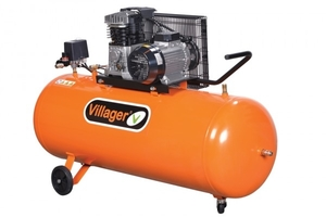 VILLAGER kompresor AB 200/4 (200 l, 10bara, 400 l/m, 3 kW) 023573