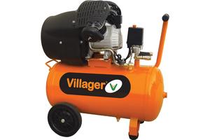 VILLAGER kompresor VAT VE 50 L (50l,8bar,316L,2,2kW)