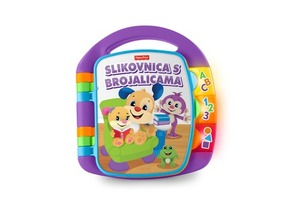 FISHER PRICE SVEZNALICA -KNJIGA