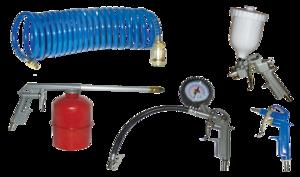 REM POWER set alata za kompresor KIT 5S