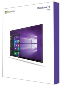 RETAIL Windows 10 Pro P2 32-bit/64-bit Eng USB