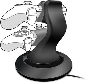 PS4 punjač SpeedLink TWINDOCK, punjač za 2 kontrolera , crni