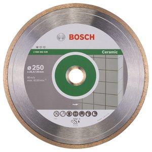 BOSCH dijamantna rezna ploča ProfessCeramic 250x30/25,4mm