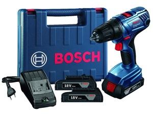 BOSCH Professional akumulatorska bušilica GSR 180 LI (2X2,0 Ah, kovčeg)