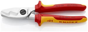 KNIPEX škare 200 mm za kabele vde 70 mm2
