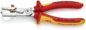KNIPEX kliješta za skidanje izolacije 180mm sa škarama za kabele 1000v