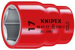 KNIPEX nasadni ključ 1/2'' 13mm 1000v