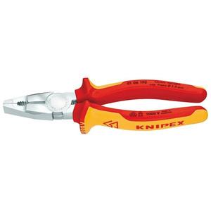 KNIPEX kombinirana kliješta 190mm 1000v