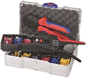 KNIPEX kliješta 97 52 36 + 12 42 195 u koferu sa stopicama