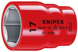 KNIPEX nasadni ključ 1/2'' 22mm 1000v