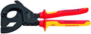 KNIPEX škare 315 mm za kabele ojačane čel.sajlom vde 380mm2 (fi 45 mm)