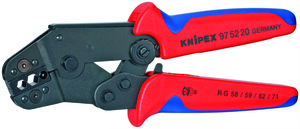 KNIPEX kliješta za koax-bnc-tnc konektore rg58/59/62/71/223