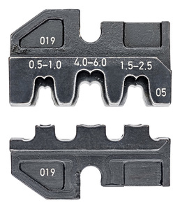 KNIPEX čeljusti za 97 43 200 za stopice otvorene neizolirane 0,5-6mm2