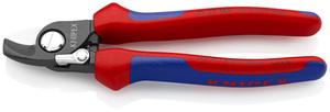 KNIPEX škare 165mm za kabele s povrat. oprugom 50mm2/fi15mm
