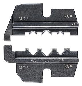 KNIPEX čeljusti za solarne konektore mc3 / 2,5-6,00 mm2