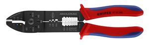 KNIPEX kliješta za kabel stopice izolirane+neizolirane 0,75-6mm2