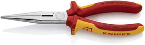 KNIPEX poluokrugla kliješta (špic) ravna 200 mm 1000v