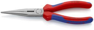 KNIPEX poluokrugla kliješta (špic) ravna 200 mm